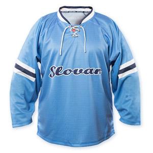 98c53b6300b00 Hokejový dres Slovan nápis belasý - Fanshop SB