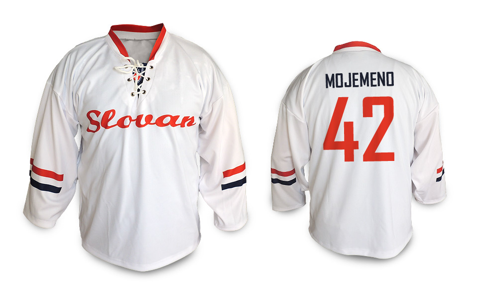 892a00efcae89 Hokejový dres Slovan nápis biely - Fanshop SB