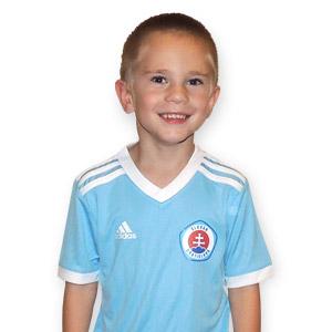 5ae05f0725ae2 Futbalový dres ŠK Slovan Adidas belaso-biely DETSKÝ - Fanshop SB