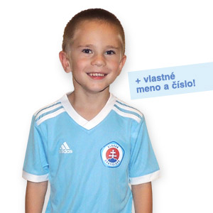 8dbfff2e1693d Futbalový dres ŠK Slovan Adidas tréningový DETSKÝ + meno a číslo ...