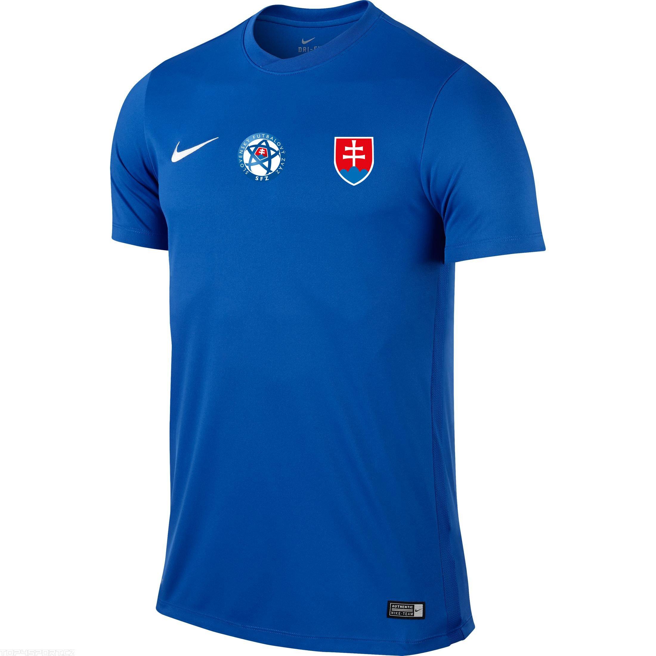 60315e7bc4198 Futbalový dres SVK modrý NIKE replika + meno a číslo - Fanshop SB