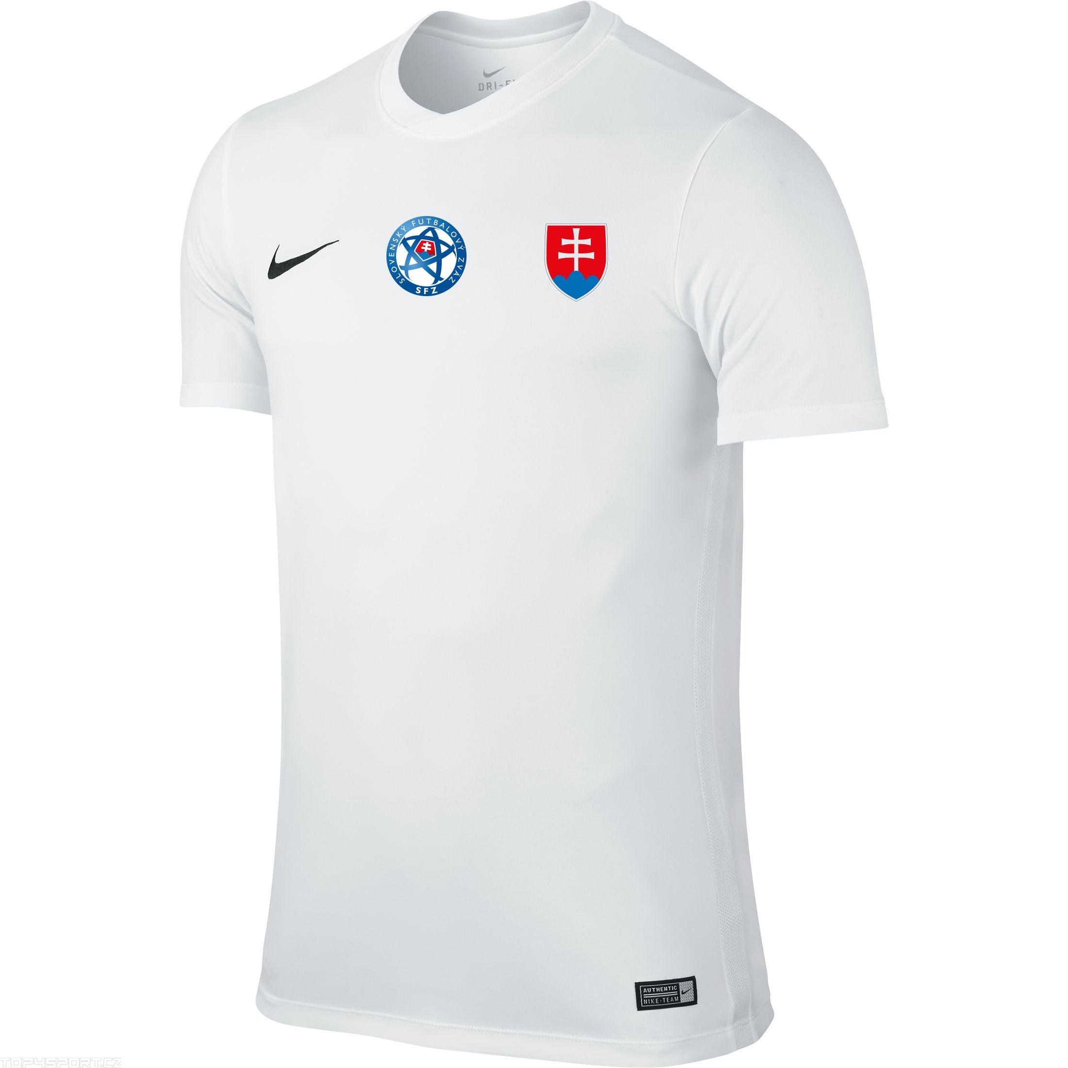 736bfd4ba Futbalový dres SVK biely NIKE replika DETSKÝ + meno a číslo - Fanshop SB