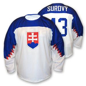 3920b7895afd6 Hokejový dres SVK znak biely 2019 - Fanshop SB