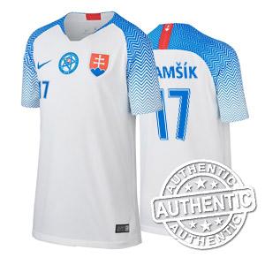 4dd9dd68b Futbalový dres SVK Nike DETSKÝ biely autentik 2018/2019 + meno a číslo
