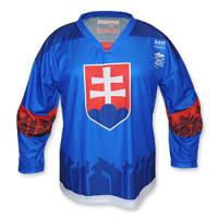 Hokejový dres Slovakia 2019 modrý fa6b615abe