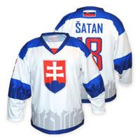 Hokejový dres Slovakia 2019 biely + meno a číslo e393065d7c